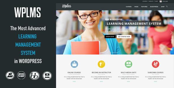wordpress wplms在线视频教学主题