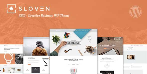 Sloven SEO WordPress企业主题 wordpress企业模板