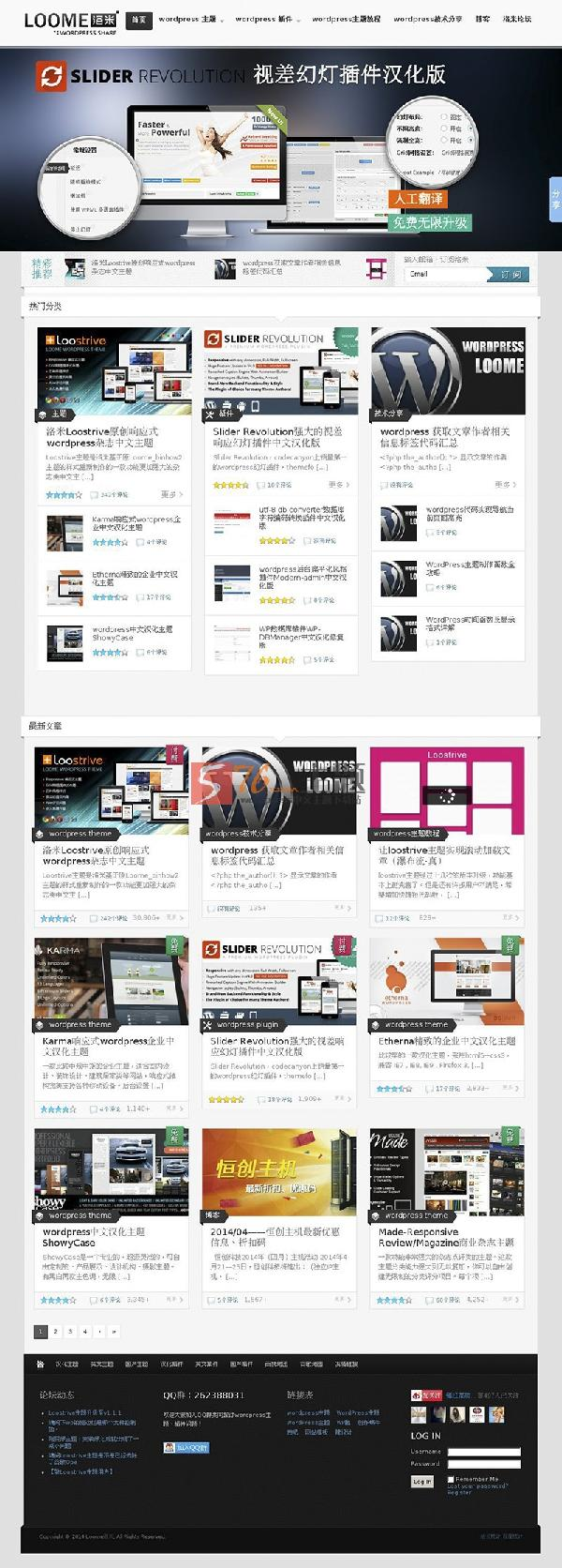 wordpress主题:Made-Magazine汉化修改版 原洛米自用主题