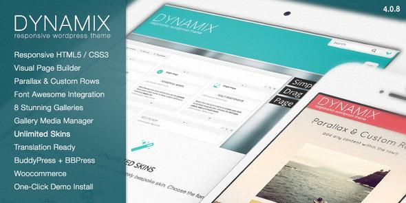 Themeforest wordpress企业主题-DynamiX