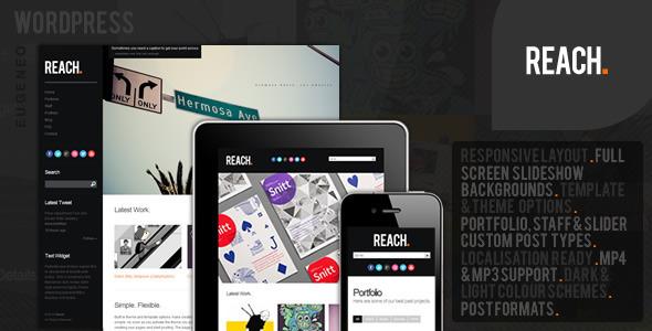 ThemeForest wordpress企业主题 – Reach