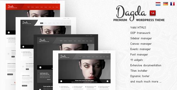 ThemeForest wordpress企业主题 – Dagda v1.4