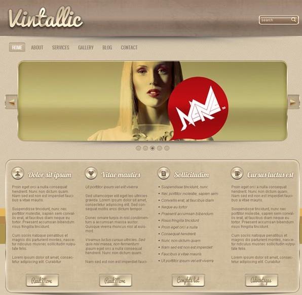wordpress企业主题 – Vintallic