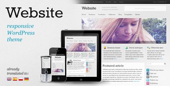 ThemeForest wordpress企业主题 – Website v2.1