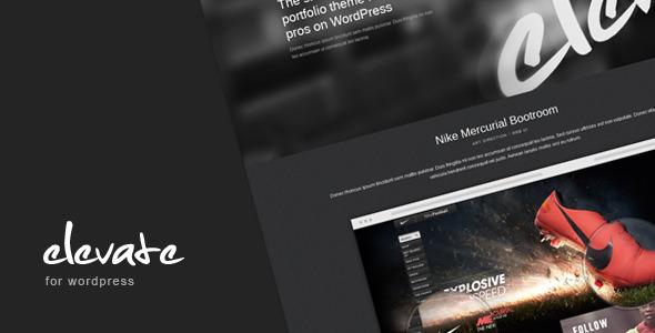 ThemeForest wordpress主题 – Elevate