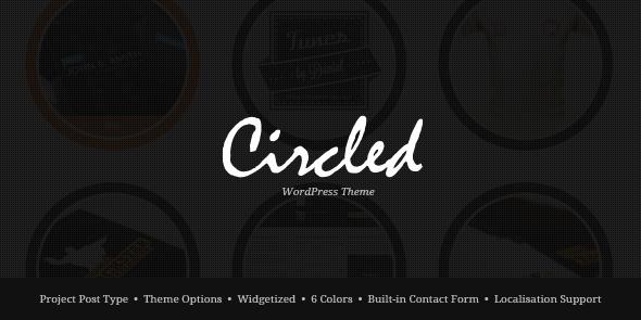 ThemeForest wordpress企业主题 – Circled