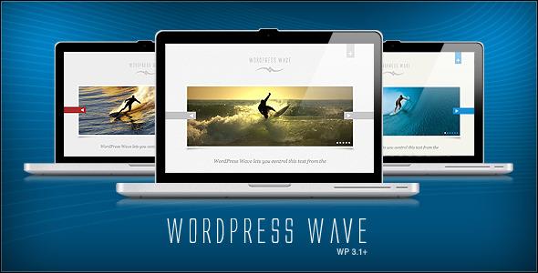 ThemeForest wordpress企业主题 – Wave