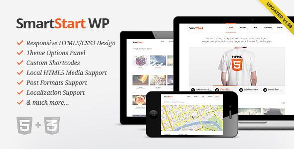 ThemeForest wordpress企业主题 – SmartStart