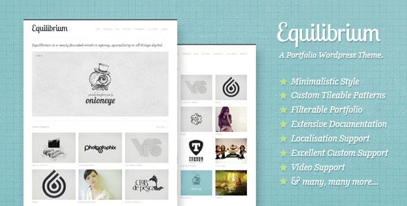 wordpress企业/工作室主题 – Equilibrium