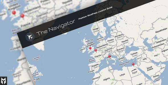旅游博客类wordpress主题 – The Navigator