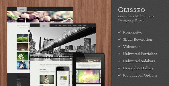 ThemeForest WordPress企业主题 – Glisseo