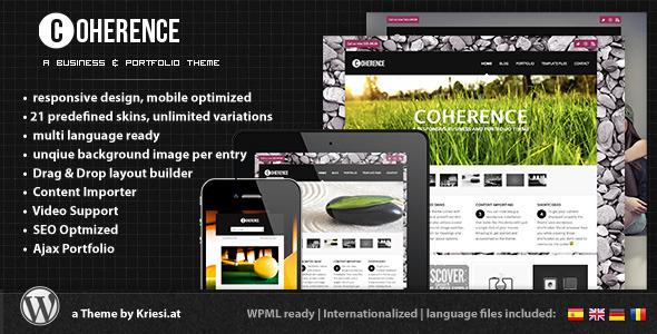 ThemeForest wordpress企业主题 – Coherence