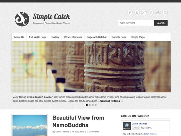wordpress汉化主题 – Simple Catch 2.01
