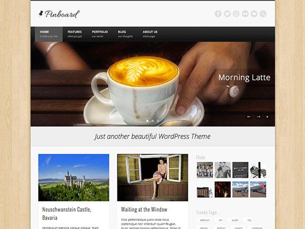 WordPress汉化主题 – Pinboard