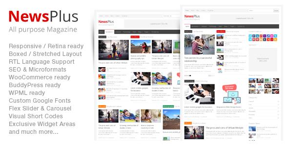 NewsPlus WordPress新闻资讯主题