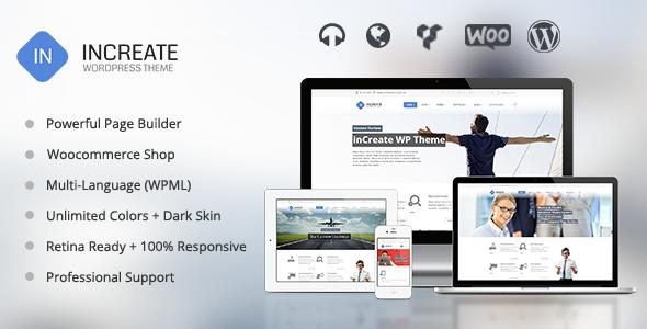 inCreate 自适应WordPress主题