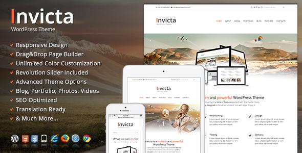 Invicta WordPress企业主题