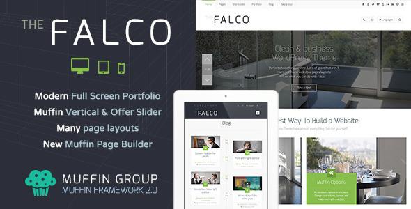 Falco WordPress企业主题