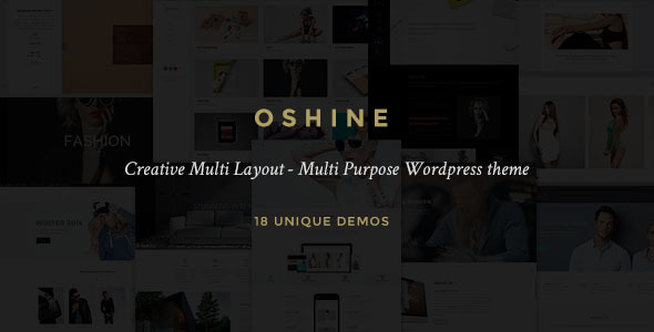 Oshine 创意设计类WordPress主题