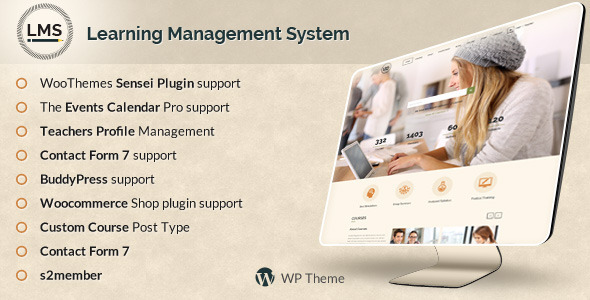 LMS 学习管理系统 WordPress主题 v3.0