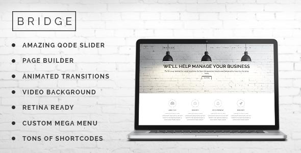 Bridge 创意多用途 WordPress主题[更新至v9.4.1]