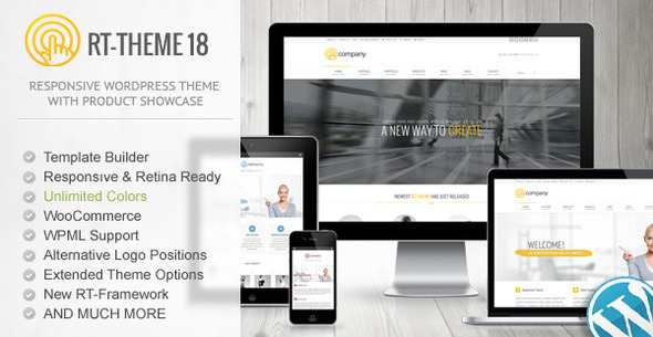 RT-Theme 18 企业&产品展示 WordPress主题[更新至v1.9.4]