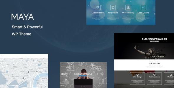 Maya 强大多用途 WordPress主题 v2.5