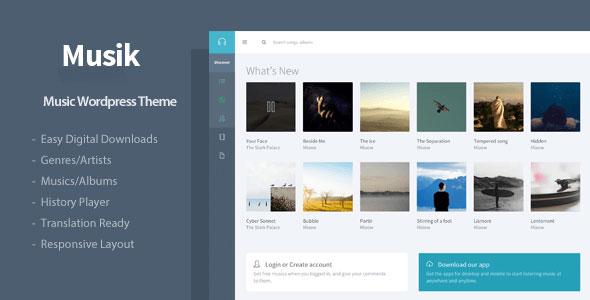 Musik 音乐 WordPress主题v2.1.1