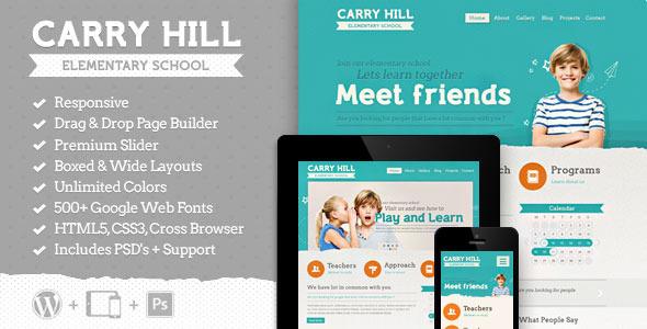 Carry Hill School WordPress主题[v2.1.1]
