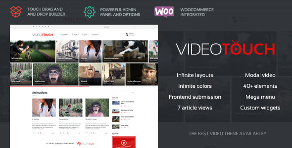 VideoTouch 视频 WordPress主题 v1.8