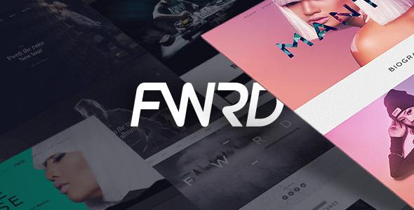 FWRD 音乐唱片明星 WordPress主题 v1.2.1