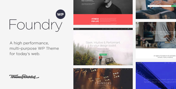 Foundry 多用途 WordPress主题 v2.0