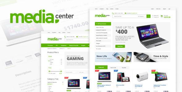 MediaCenter 购物商城 WordPress主题 v2.2.1
