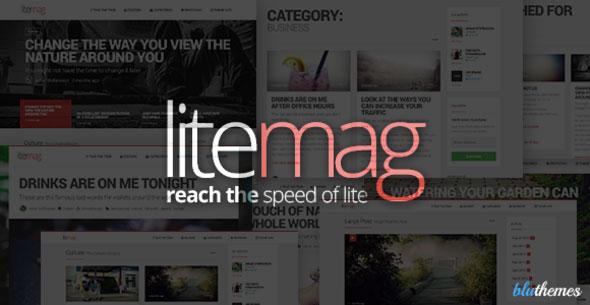 LiteMag 极简杂志 WordPress主题 v1.5