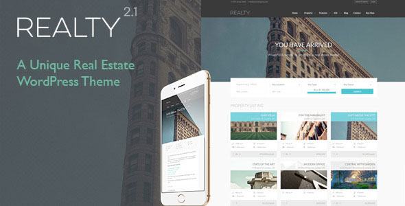 Realty 地产租售 WordPress主题  v2.4.3