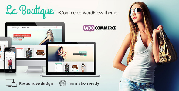 La Boutique 多用途WooCommerce购物商城 WordPress主题[v1.8.6]
