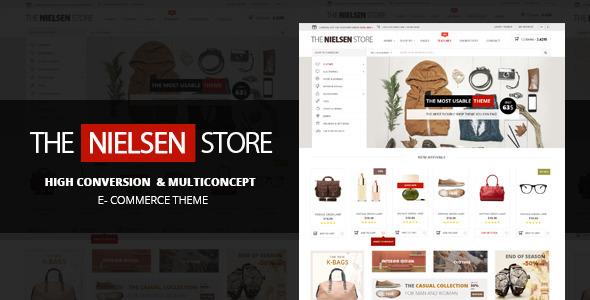 Nielsen 终极在线购物 WordPress主题 v1.2.9