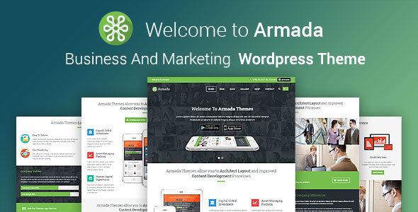ARMADA 商务营销 wordpress主题 v4.0