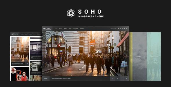 SOHO 全屏摄影视频 wordpress主题 v1.8