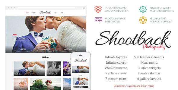 Shootback 摄影 WordPress主题 v1.1.1
