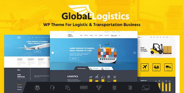 Global Logistics 环球速运物流运输仓储 WordPress主题 v1.8