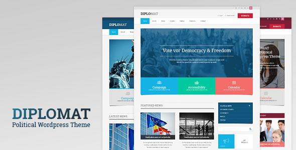 Diplomat 政府 WordPress主题 v1.0.9
