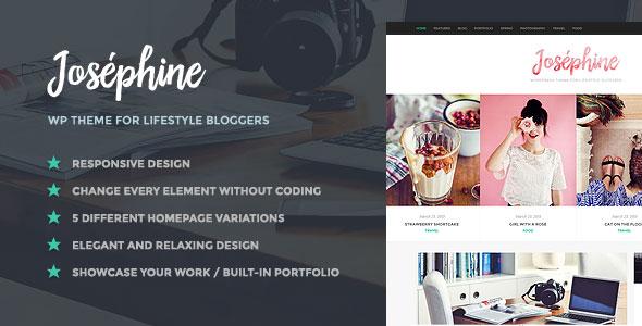 Josephine 博客  WordPress主题 v1.1.2