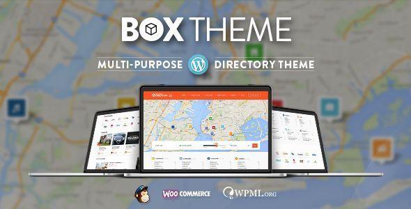 Directory 商家目录 WordPress主题 v3.2