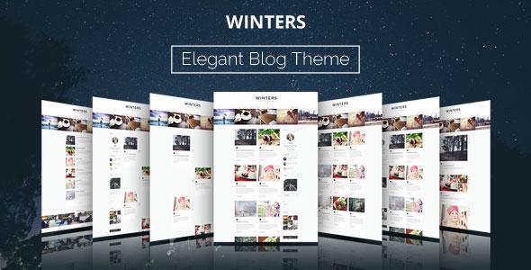 Winters 博客 WordPress主题 v1.4.3