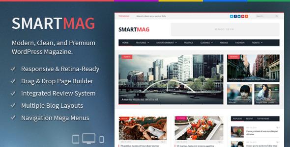 SmartMag 新闻杂志 WordPress主题[v2.6.2]