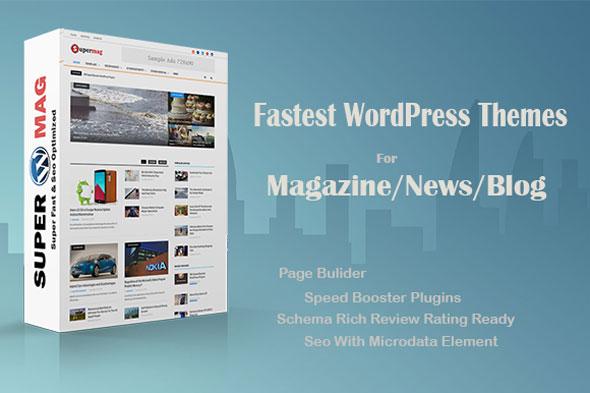 Supermag 杂志新闻博客 WordPress主题