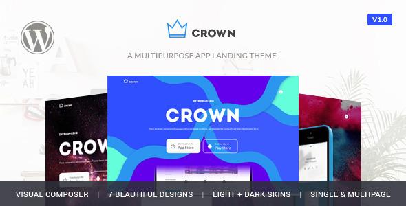Crown APP展示 WordPress主题
