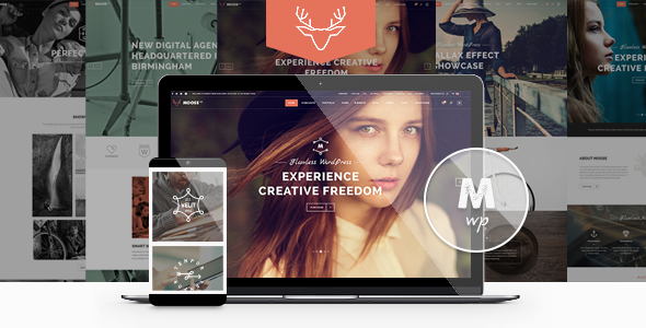 Moose 创意多用途 WordPress主题 v1.2