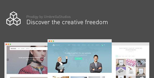 Prodigy 多用途 WordPress主题 v1.2.4